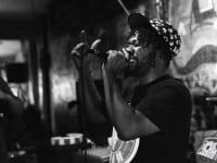 Eze Jackson at Velvet Lounge for Rap Round Robin