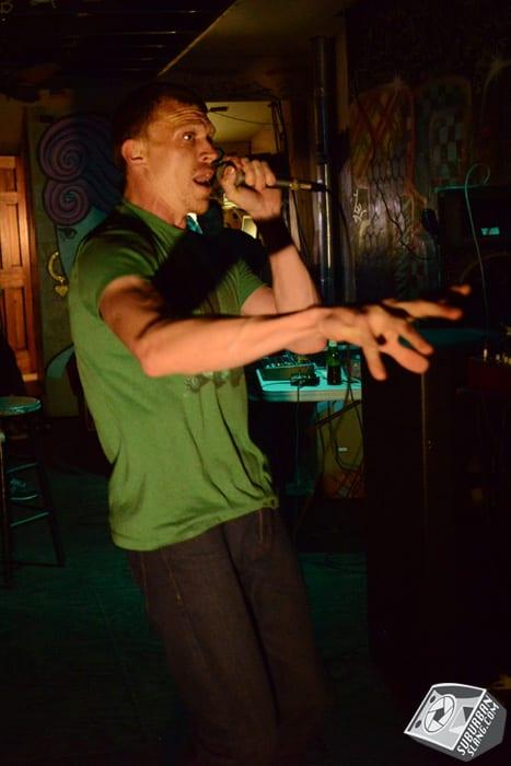 P.T. Burnem at Velvet Lounge for Rap Round Robin
