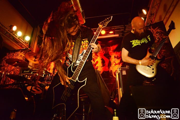 Visceral Disgorge at Metro Gallery